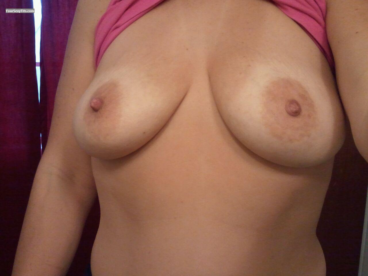 My Medium Tits Selfie by Curvy Shawty