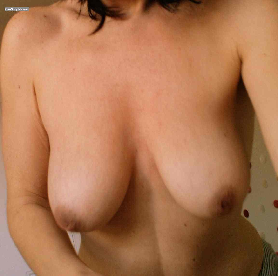 Tit Flash: Medium Tits - Piluca from Spain