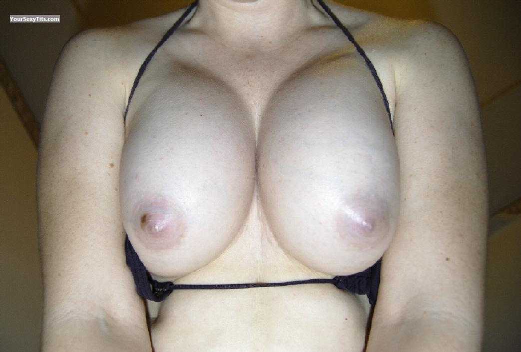 Tit Flash: My Medium Tits (Selfie) - Kacey from United States