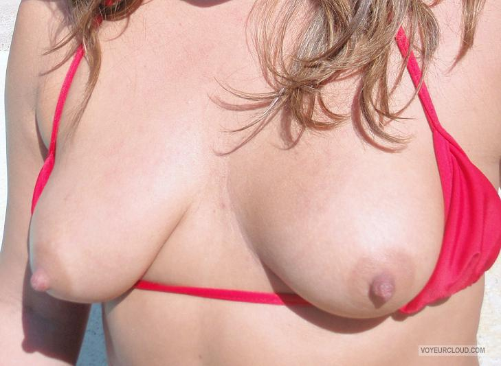 Tit Flash: Ex-Girlfriend's Medium Tits - Sam from United States