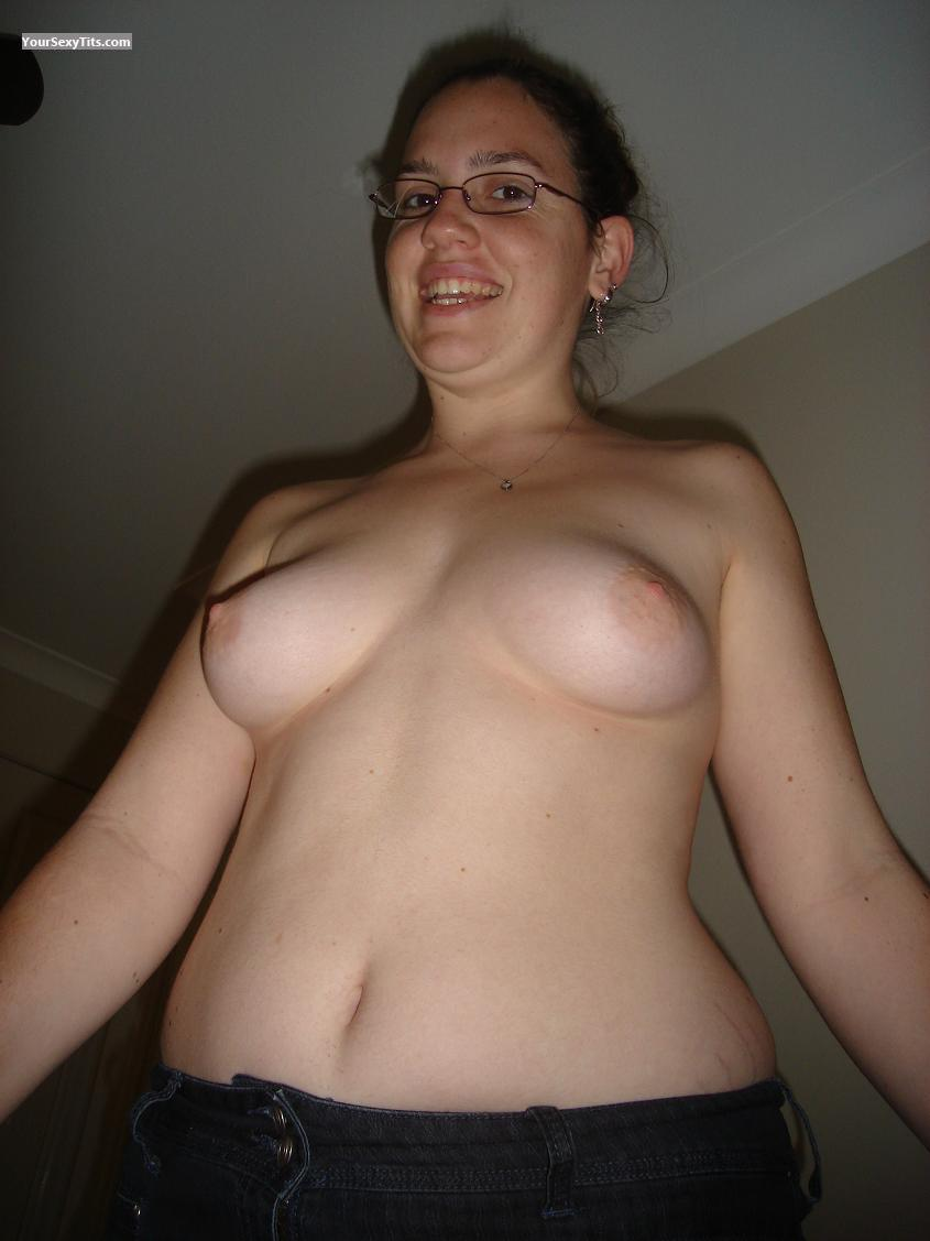 My Medium Tits Topless Selfie by Annaa
