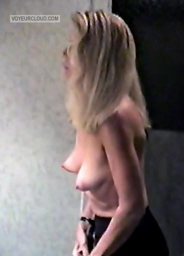 Tit Flash: Girlfriend's Small Tits - Bb from United States
