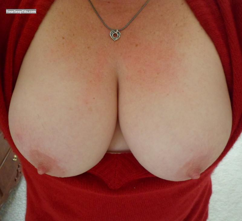 My Medium Tits Selfie by Naughty Wife