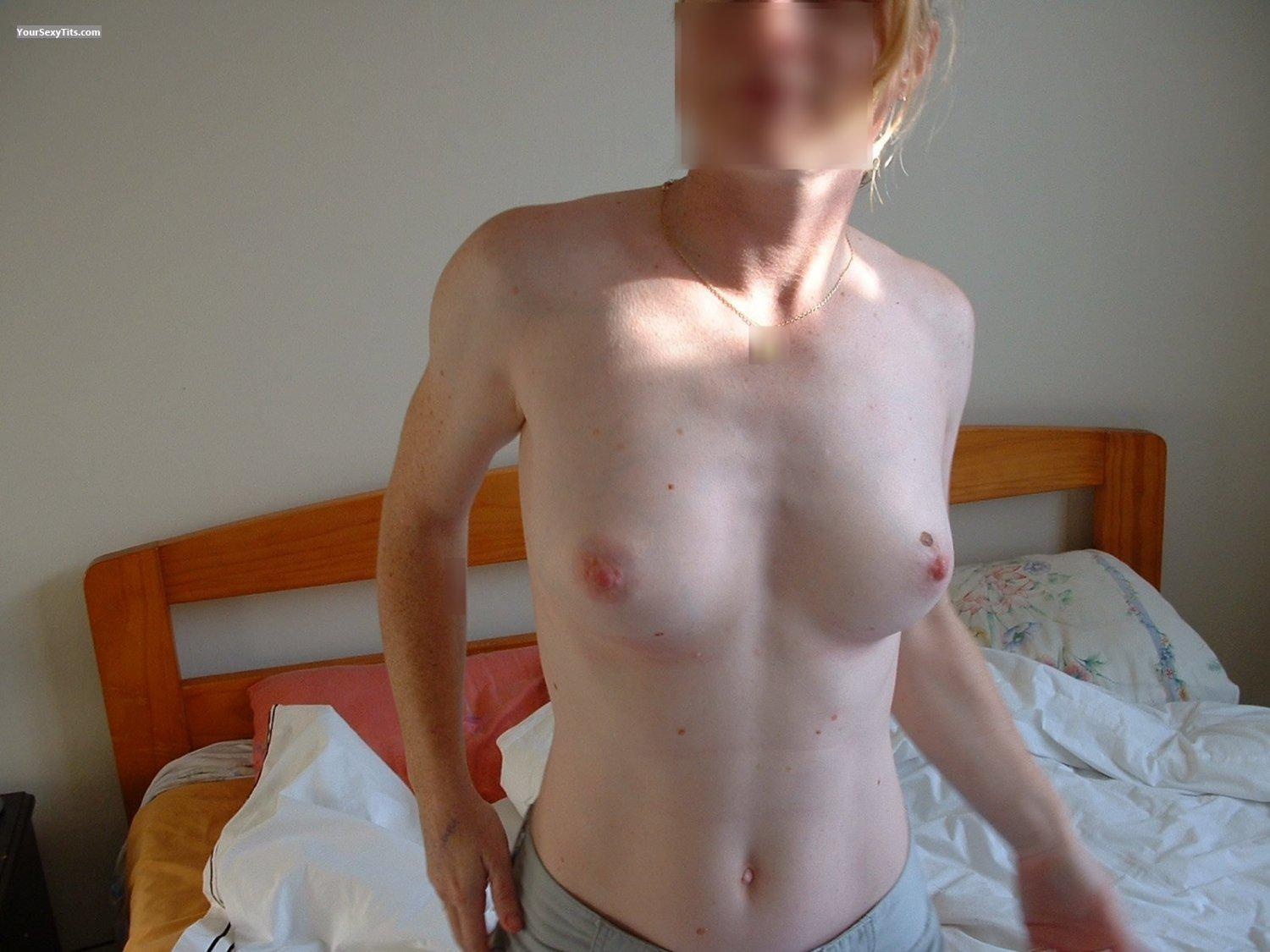 Medium Tits My Wifes Awesome Boobies