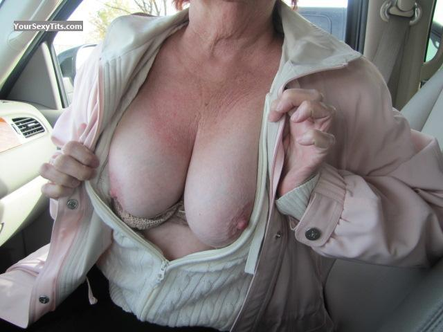 Tit Flash: Medium Tits - Honey from United States