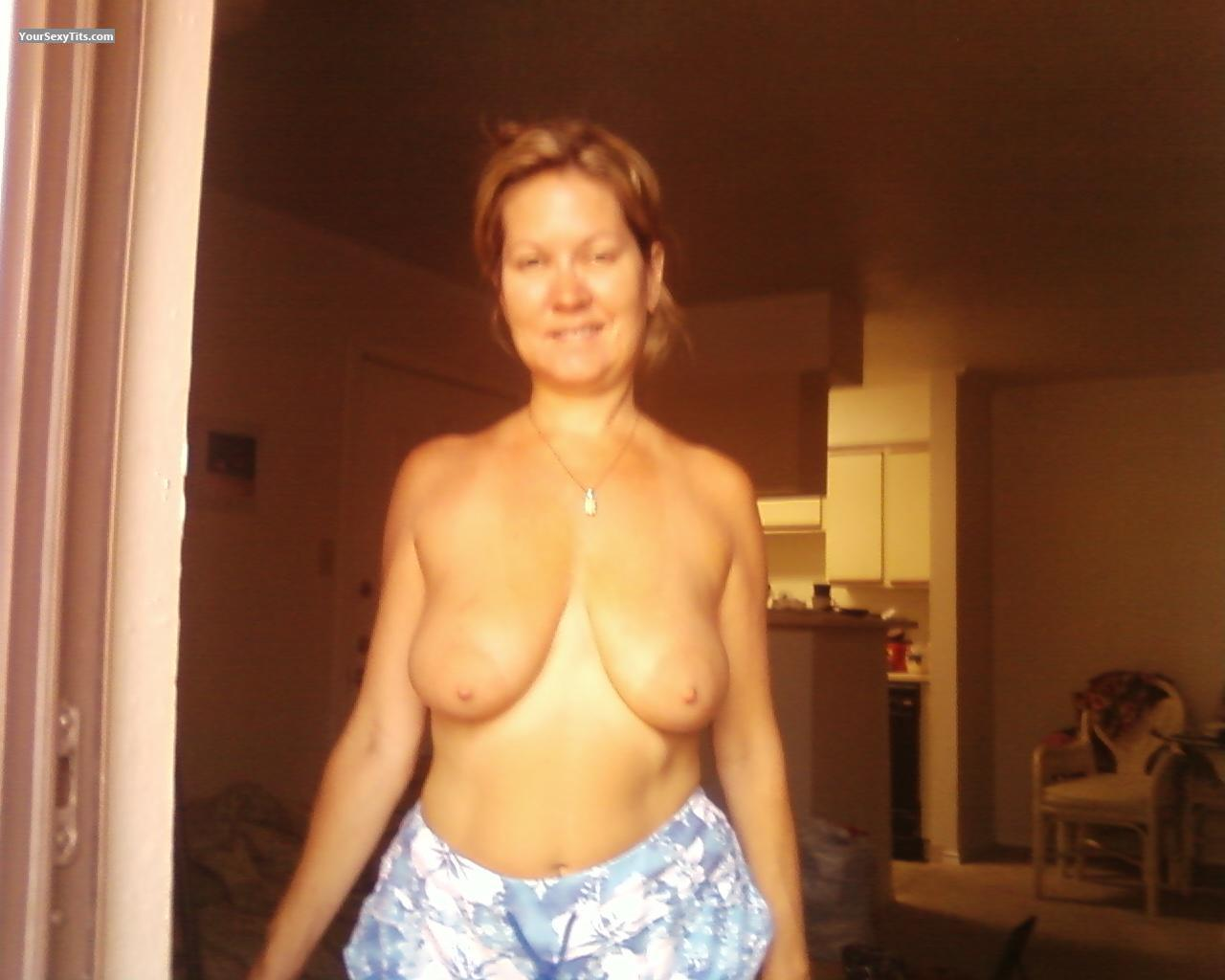 Tit Flash: Medium Tits - T from United States