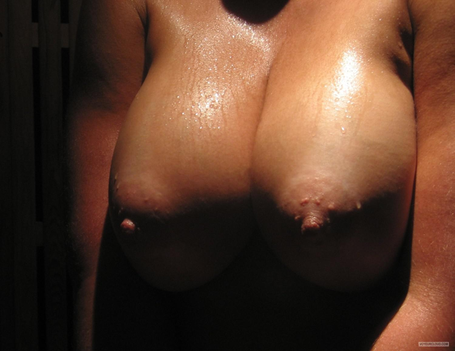 Tit Flash: My Big Tits - Faans Flasher from United States