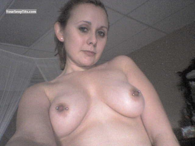 My Medium Tits Topless Selfie by Shawny