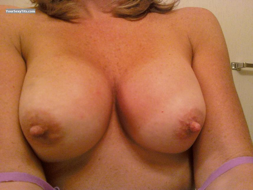 Tit Flash: My Medium Tits (Selfie) - Swallow from United States