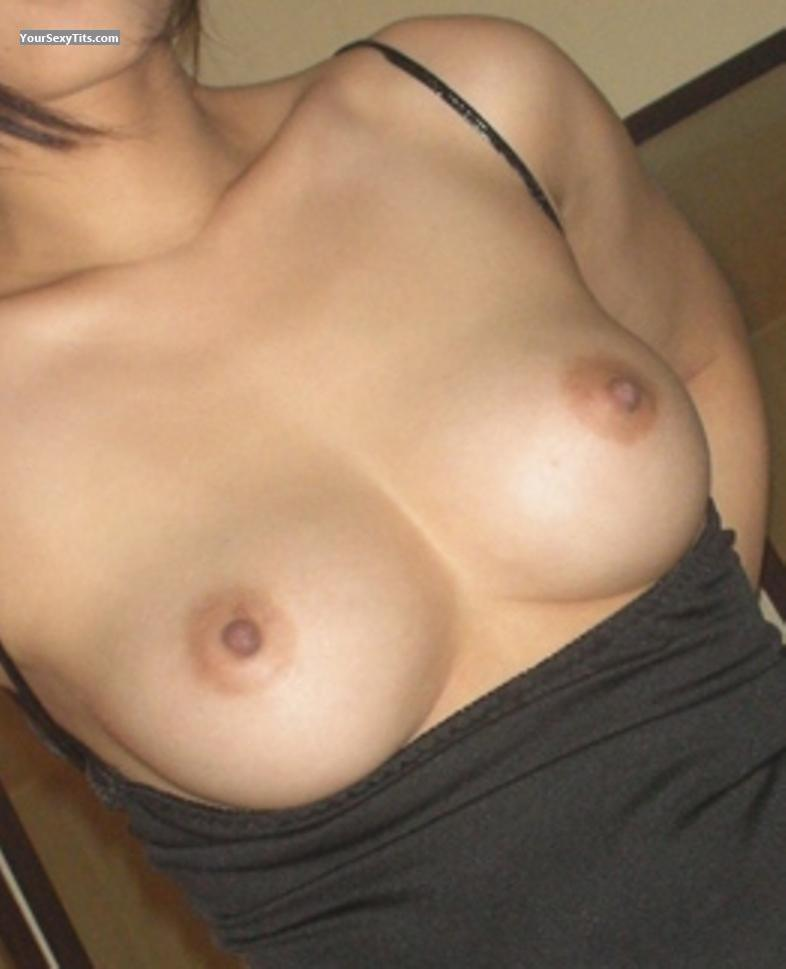 Medium Tits Of My Girlfriend Selfie by Jenn