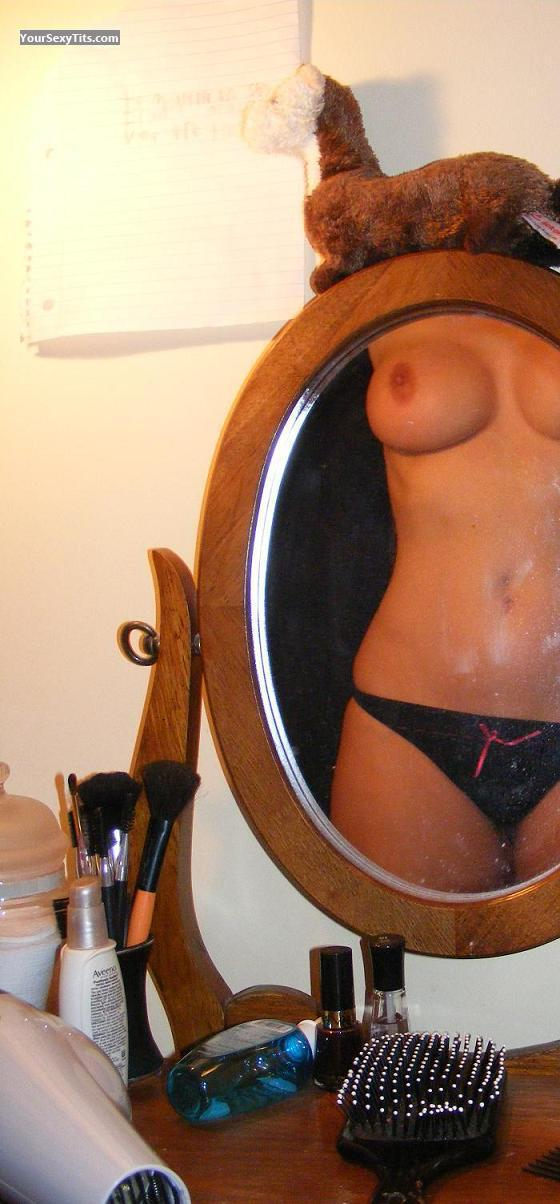 Tit Flash: My Medium Tits (Selfie) - JSSJ from United States