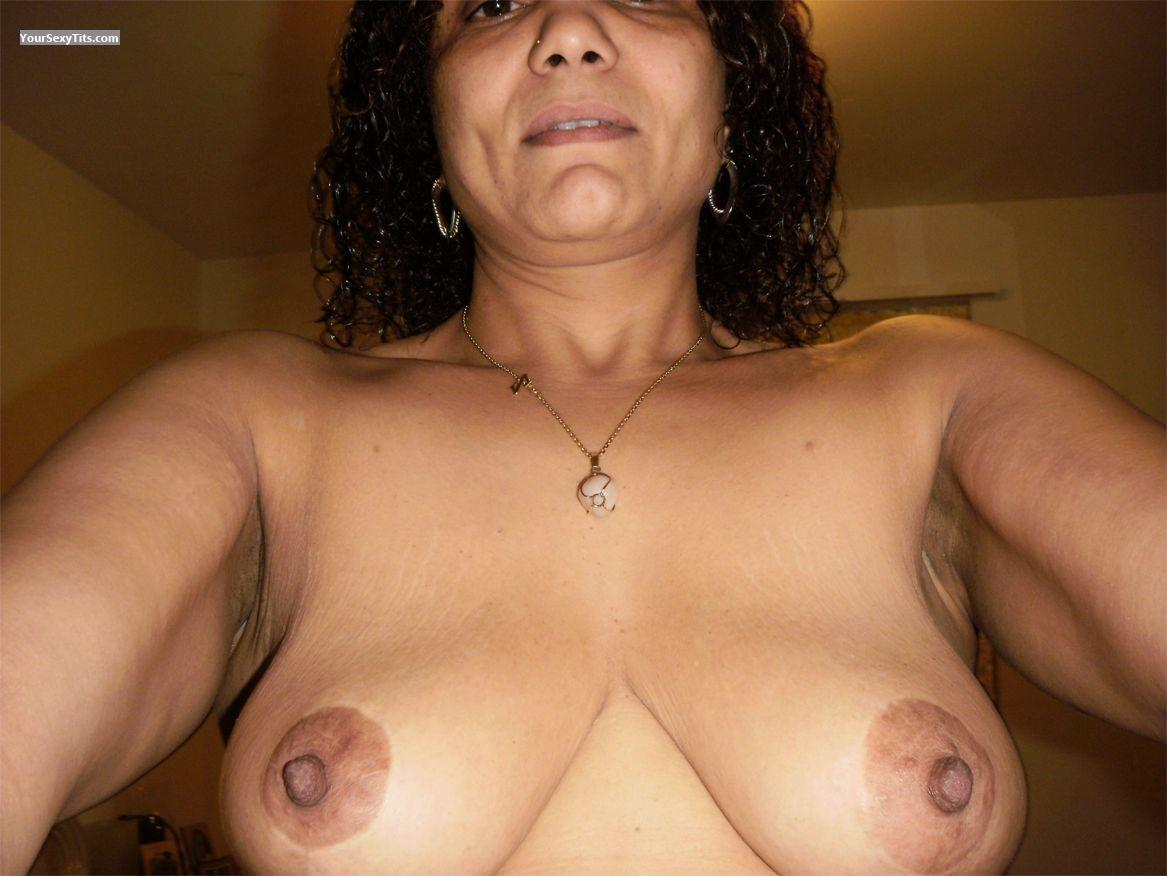 My Medium Tits Topless Selfie by Carmen