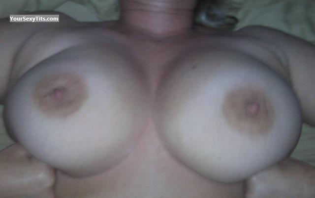 Tit Flash: Medium Tits - Bedtime Babe from United States