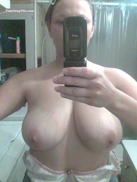 My Medium Tits Selfie by Flasher