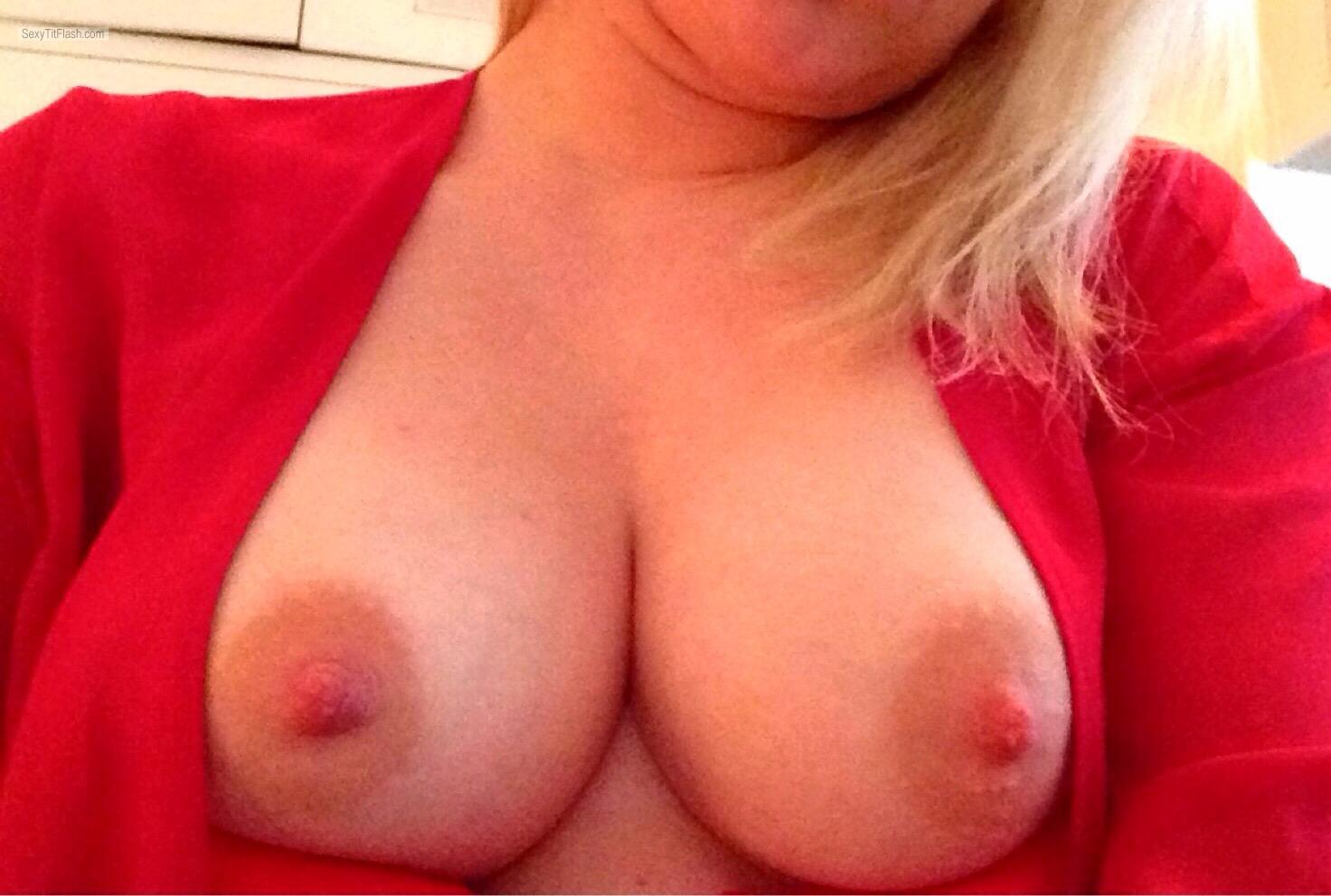 My Medium Tits Selfie by Onceagoodgirl