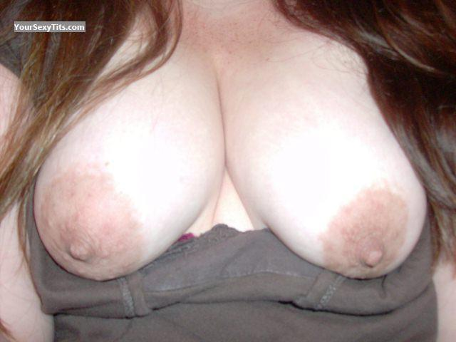 Tit Flash: My Medium Tits (Selfie) - SexyMouse from United States