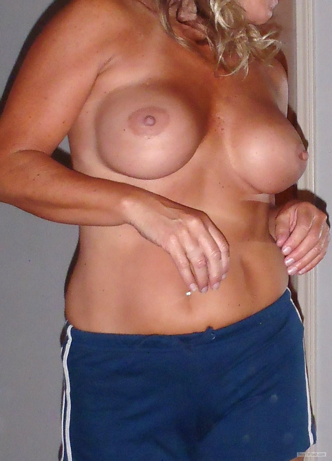 Medium Tits Of My Wife Summer Sun