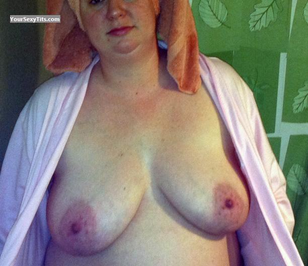 Tit Flash: My Medium Tits - Wifey from United States