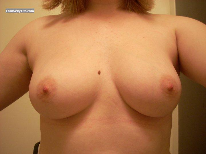 Tit Flash: My Medium Tits (Selfie) - Ari from United States