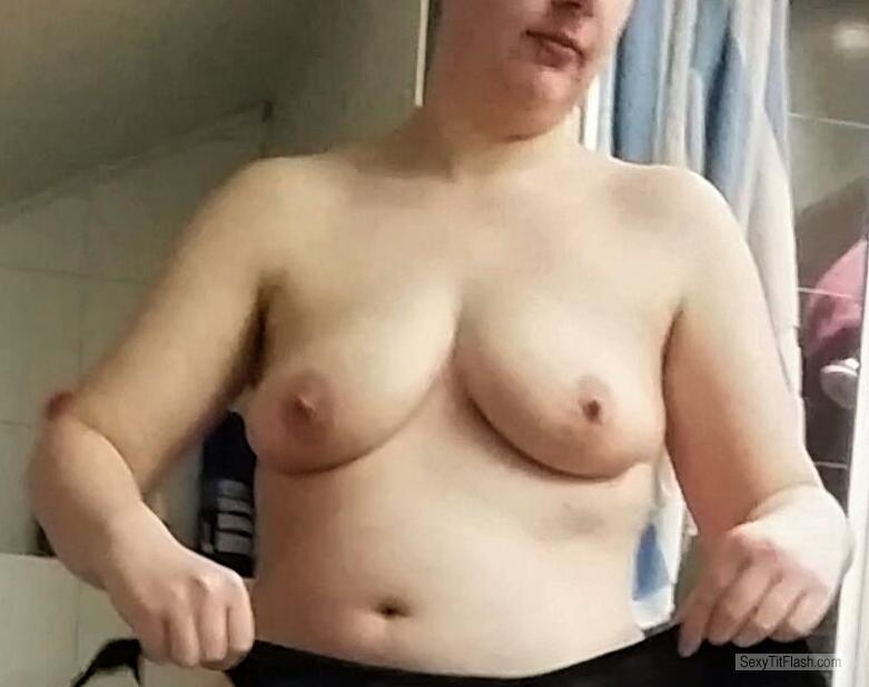 Tit Flash: My Small Tits - Sabrina21085 from Germany