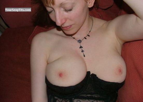 Tit Flash: Medium Tits - Kate from United States