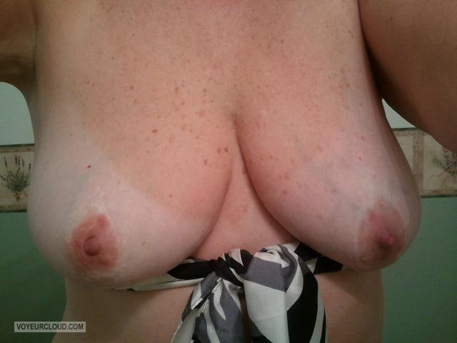 Medium Tits Of My Wife Selfie by Miss FLA