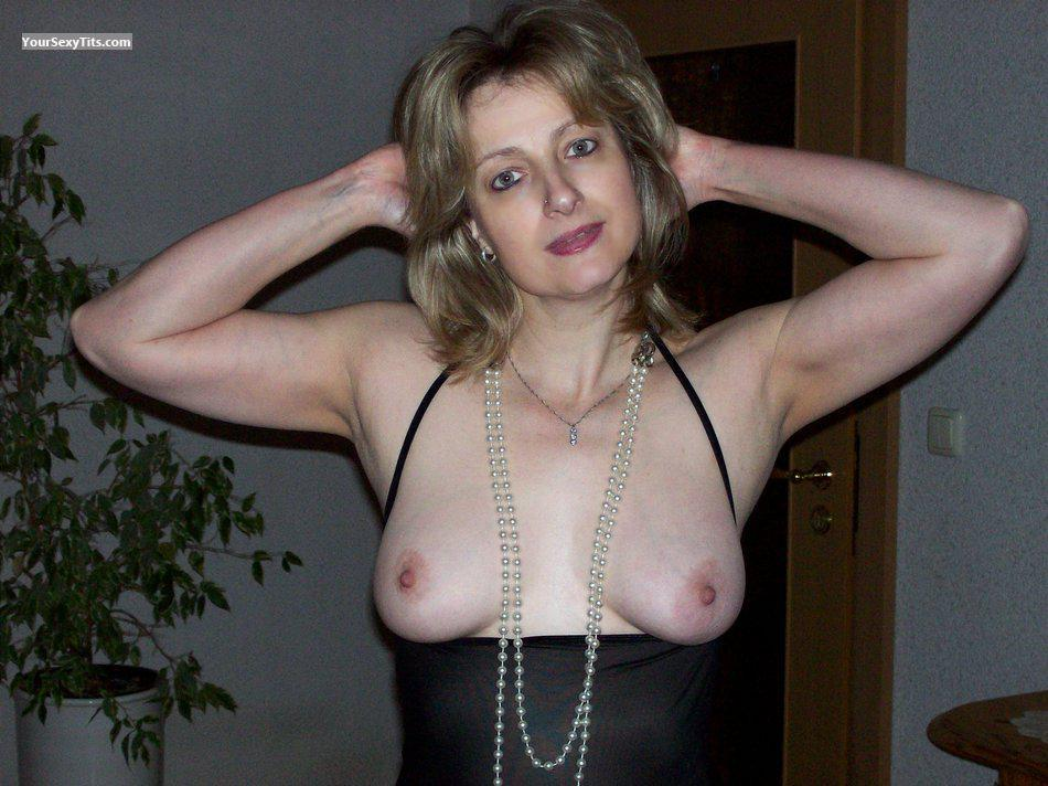 Medium Tits Topless German Wife