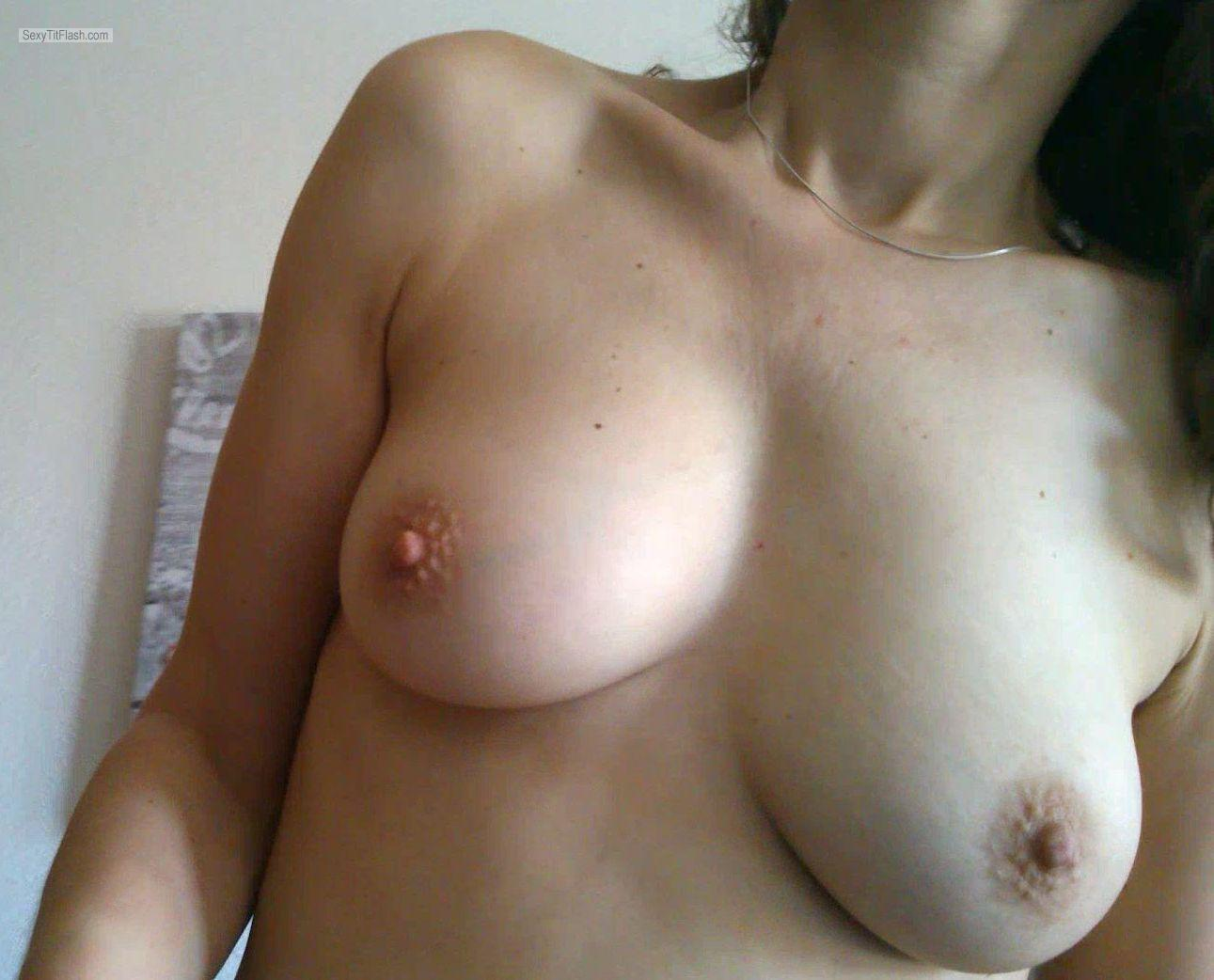 Small Tits Of My Wife Alma