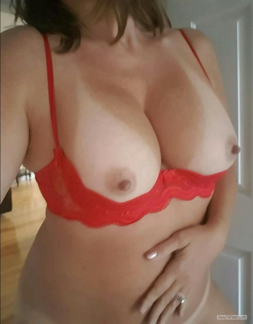 My Medium Tits Selfie by Traci