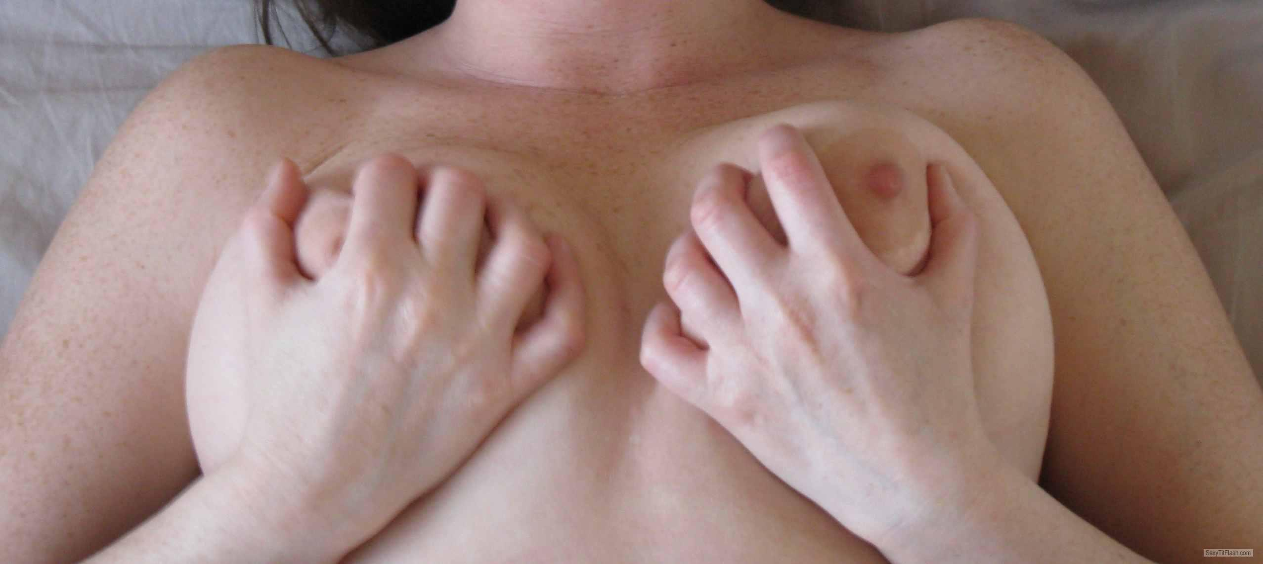 Medium Tits Of My Wife Sara
