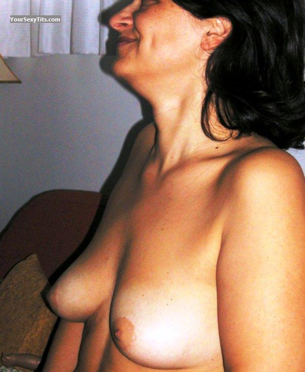 Tit Flash: Medium Tits - Katerina from Greece