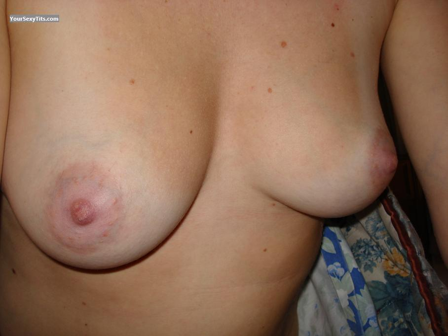 Tit Flash: Medium Tits - Naty from Argentina