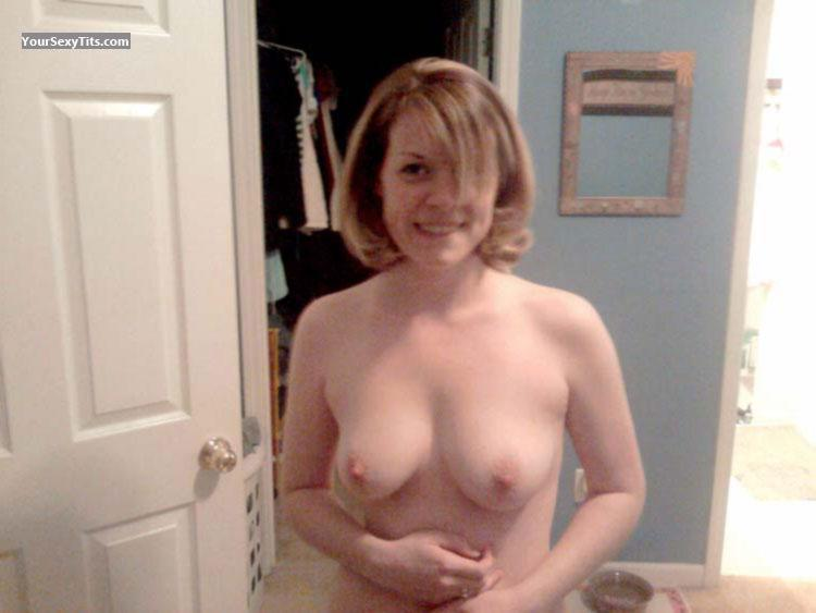 My Medium Tits Topless Selfie by Rachel
