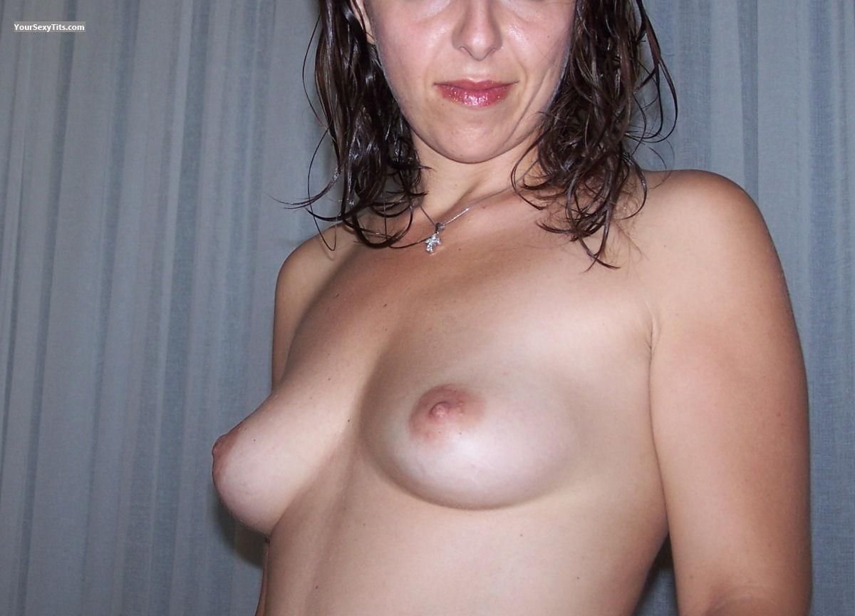 Tit Flash: Small Tits - Stefania from Italy