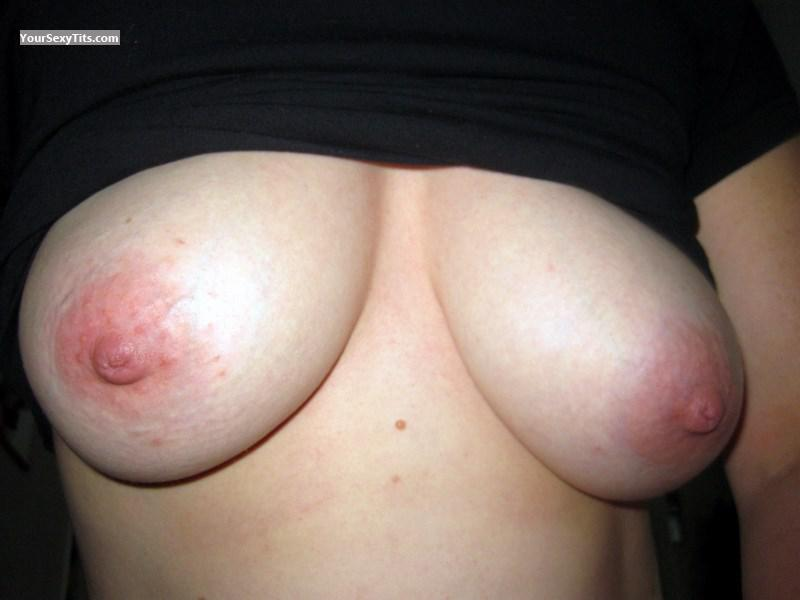 Tit Flash: My Medium Tits (Selfie) - AK North 60 from United States