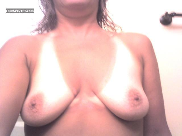 My Medium Tits Selfie by Hockeymom