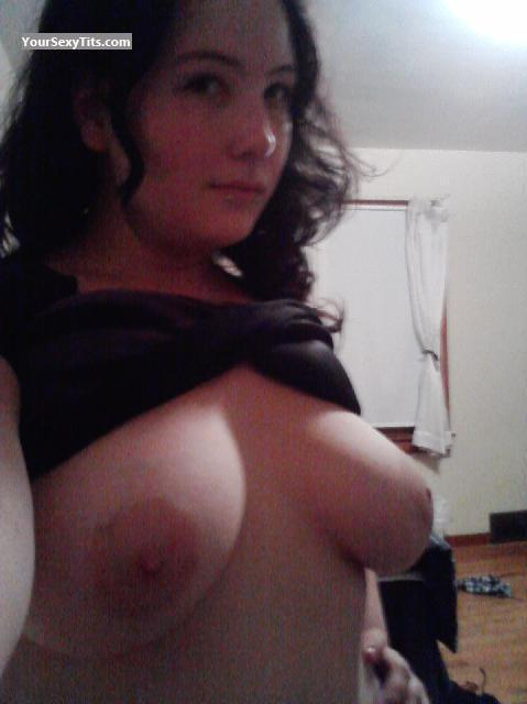 My Medium Tits Topless Selfie by Lauren