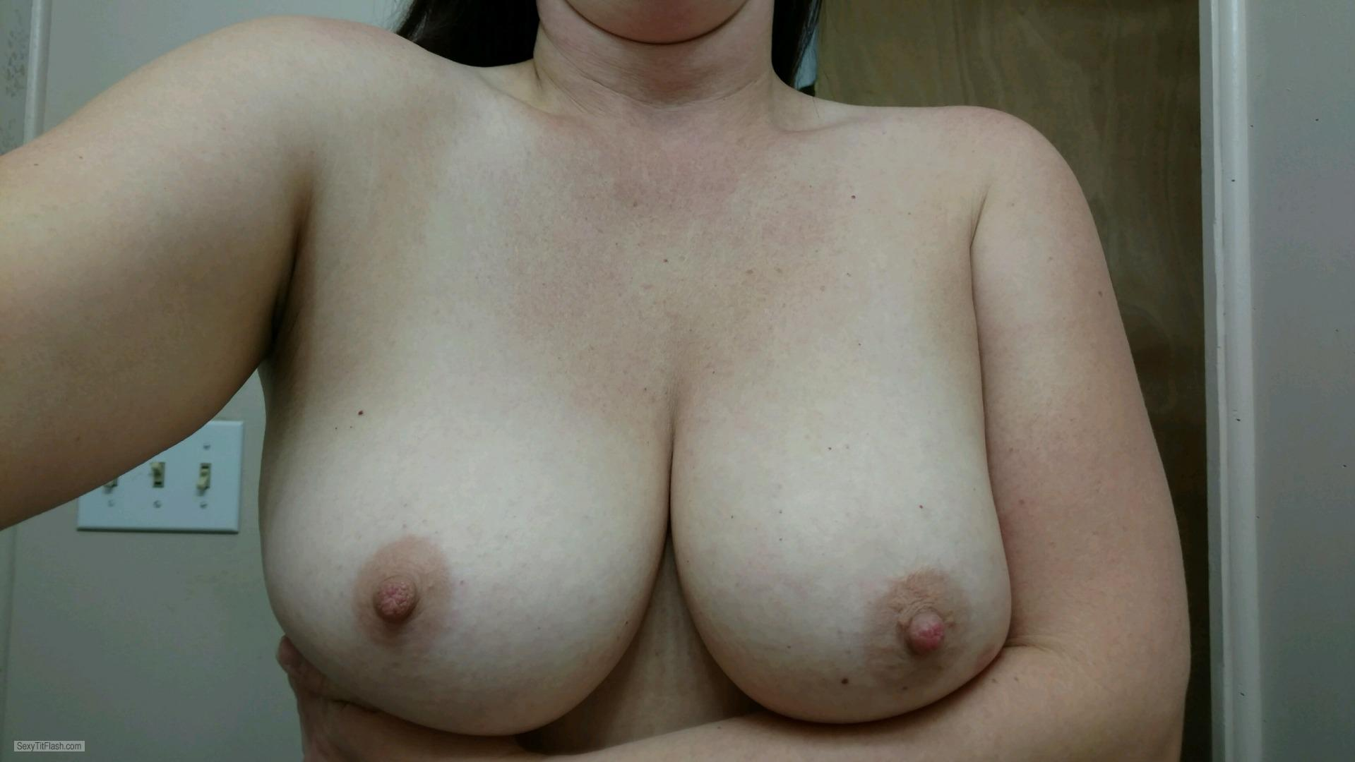 My Medium Tits Selfie by Ginger