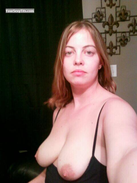 My Medium Tits Topless Selfie by Jenni