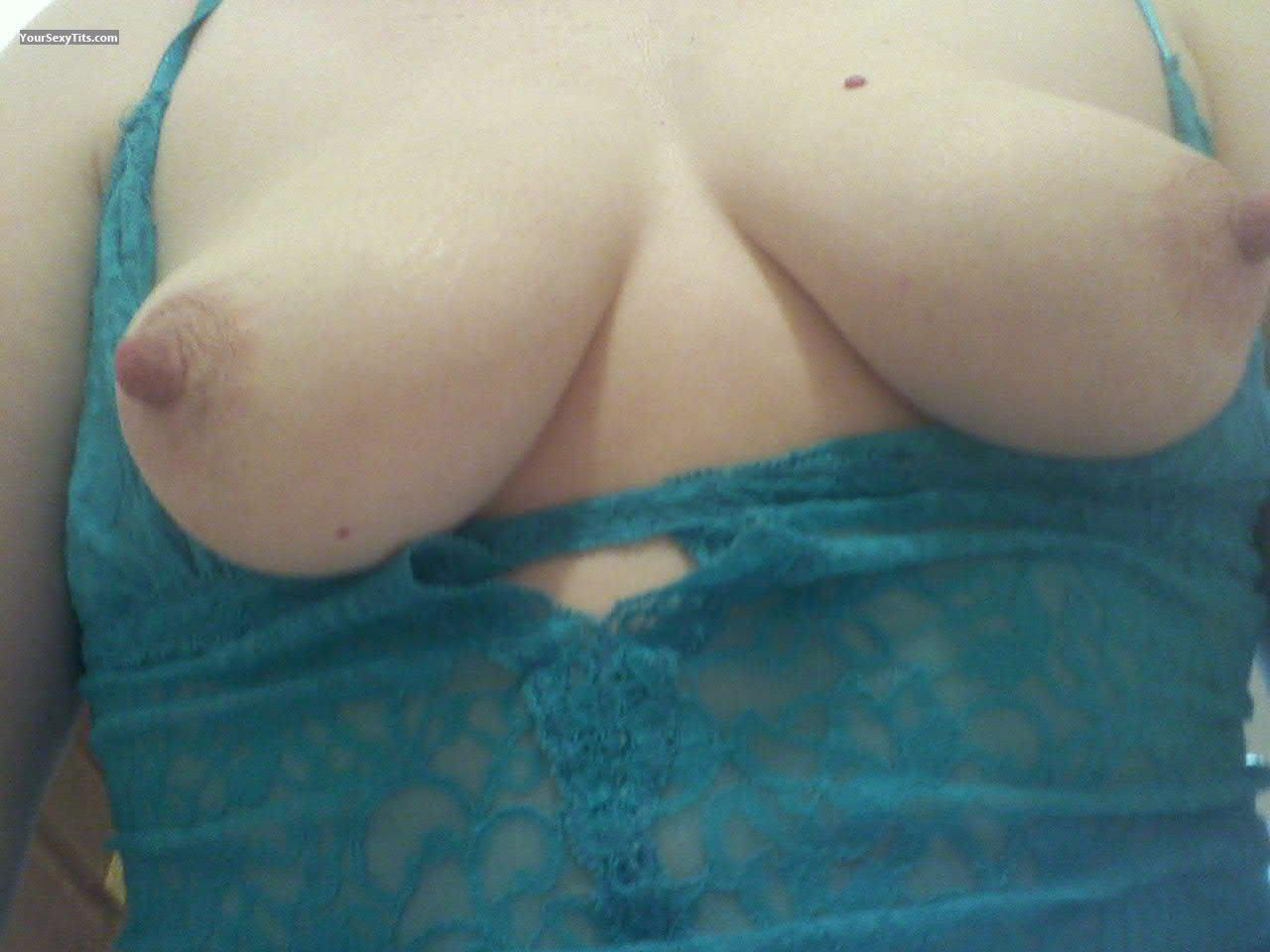 Medium Tits Of My Wife Selfie by Little Momma