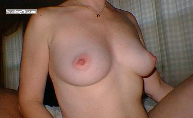 Tit Flash: Medium Tits - Karen from United States