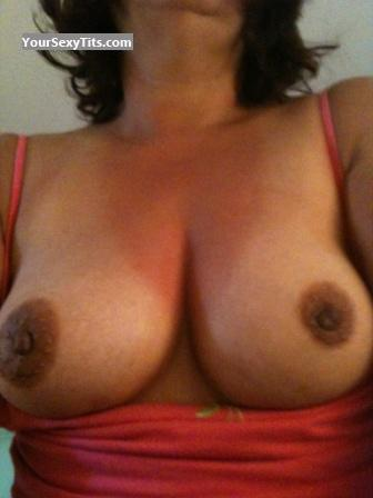 Tit Flash: Medium Tits - Hot Summer from United States