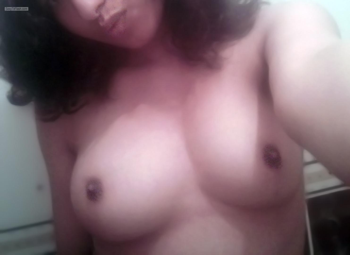 My Medium Tits Topless Selfie by Nina69nina
