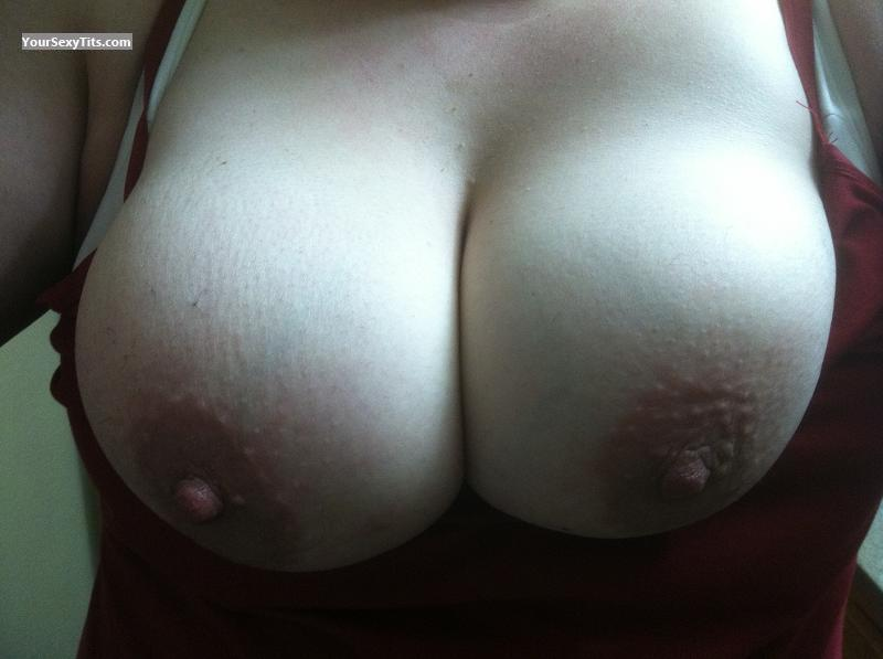 Tit Flash: My Friend's Medium Tits - Friend From Work from United States