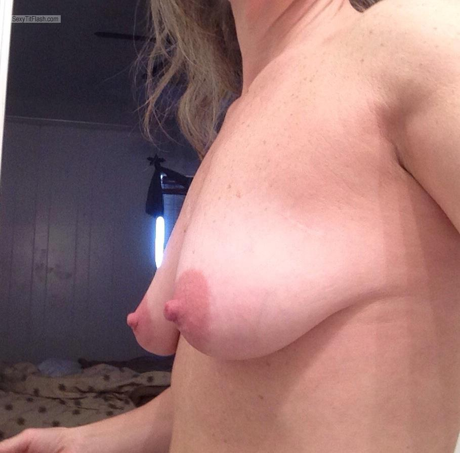 Tit Flash: My Tanlined Small Tits - Duke Girl from United Kingdom