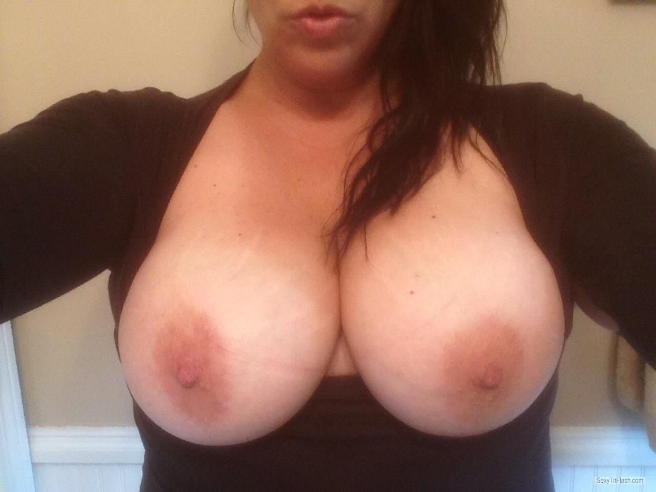 Big Tits Of My Room Mate Selfie by Easy