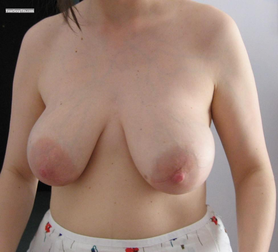 Tit Flash: Medium Tits - Sil from Italy