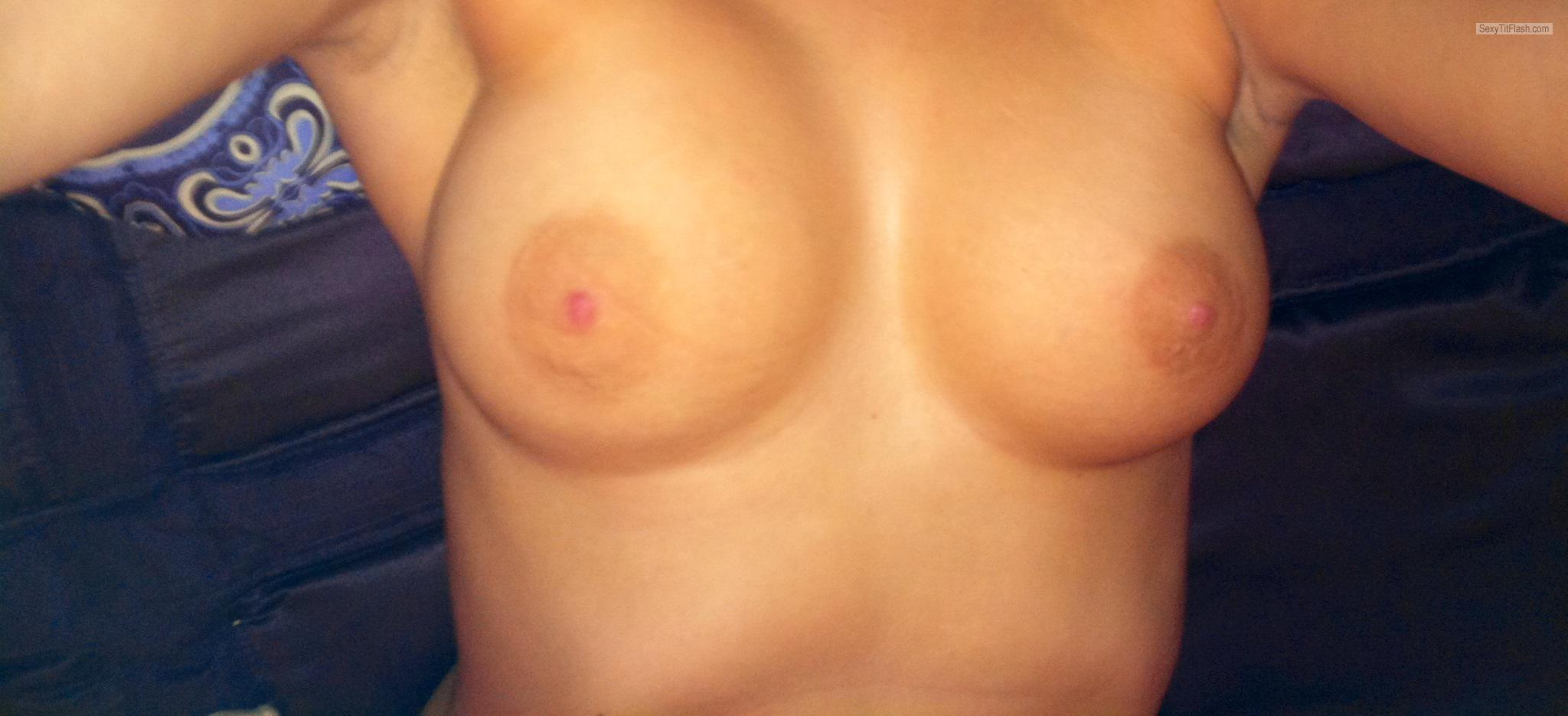 Medium Tits Of A Friend Selfie by Ali