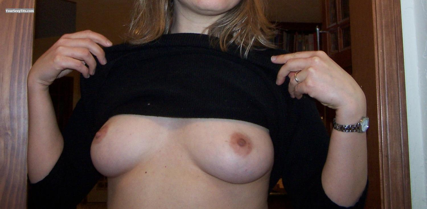 Tit Flash: Medium Tits - BobS from United States
