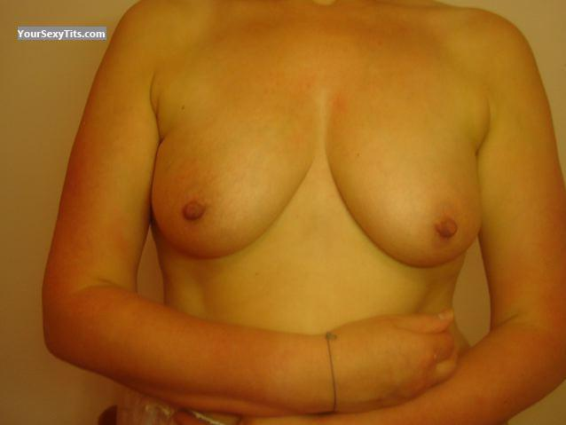 Tit Flash: Medium Tits - Sam from Belgium